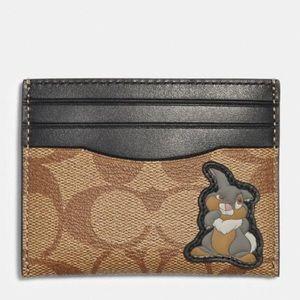 Disney x Coach Thumper Slim Card Case